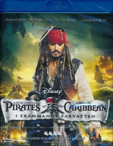 Pirates of the Caribbean 4: I Främmande Farvatten (Blu-ray)
