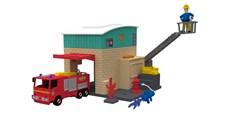Brandstation med brandbil, Brandman Sam