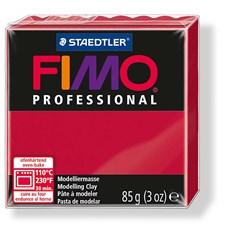 Fimo Professional Modellera 85 g Mörkröd
