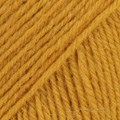 Drops Fabel Uni Colour Garn Ullmix 50g Senapsgul (111)