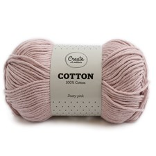 Adlibris Cotton lanka 100g Dusty Pink A084