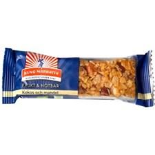 Kung Markatta Frukt & Nötbar Kokos Mandel, 40 g