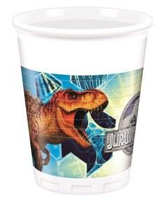 Jurassic World Plastmuggar, 8 st