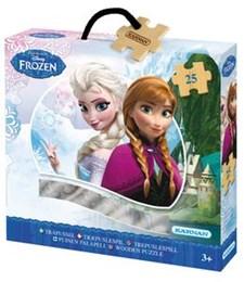 Frozen - huurteinen seikkailu -puupalapeli (25 palaa), Kärnan
