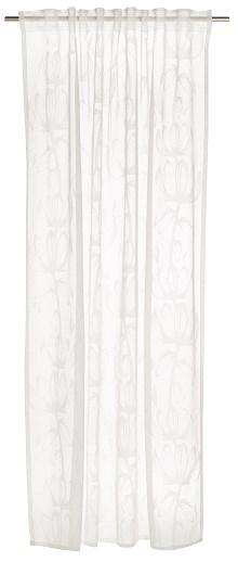 Finlayson Devoré-Gardin Alma Polyester Viscose 140 x 250 cm Vit