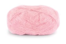 Dale Garn Line Langmo Påfugl Mohair Mix 50 g Rosa 4612