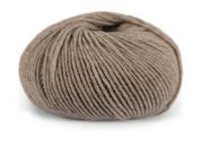 Dale Garn Pure Eco Wool Økologisk Ull Alpakka 50g 1206 Beige Melert