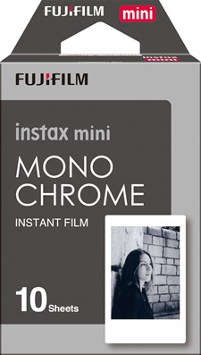 Film Instax Mini Sort//Hvitt