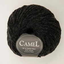 Viking of Norway Camel Garn Ullmix 50g Koksgrå 217