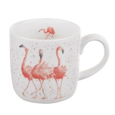 Royal Worchester WD Flamingo Mugg 31 cl Vit