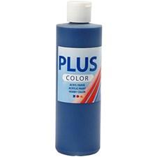 Plus Color-askartelumaali, 250 ml, laivastonsininen