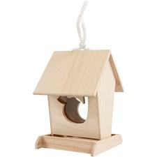 Fågelbord, stl. 14,5x16x21,5 cm, 1 st., Kejsarträd