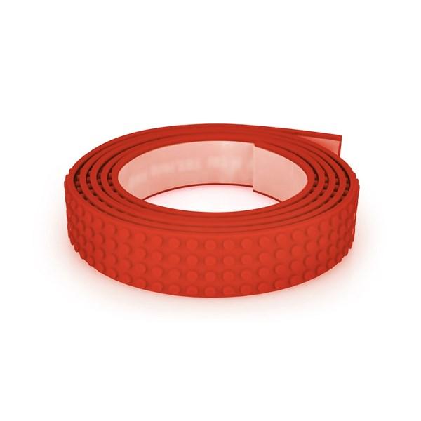 Mayka Block Tape  Röd  Large  MAYKA - klossar & byggleksaker