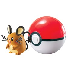 Pokémon, Clip 'n' Carry Ball, Dedenne + Poke Ball
